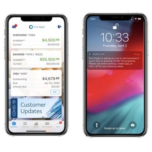 Digital Banking App Image